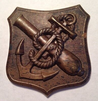 Civil War, Brass 9th.Corps Shield Badge, Unused old Stock, Bannermanns, *Super*