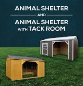 Animal shelters and run ins for sale