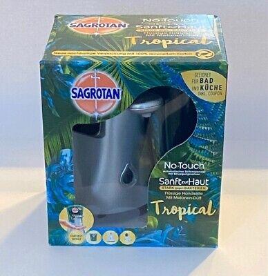 Sagrotan No-Touch Automatischer Seifenspender – Inkl. Sagrotan Nachfüller
