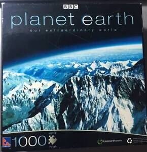 Jigsaw Puzzle 1000 Pieces - Planet Earth - Mountains Sydney City Inner Sydney Preview