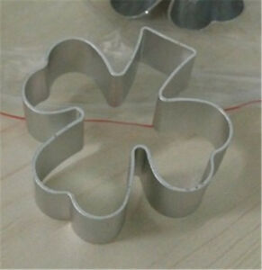 Metal 5cm Shamrock Shaped Cookie Pastry Cutter