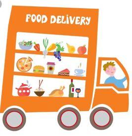 Food delievry driver needs