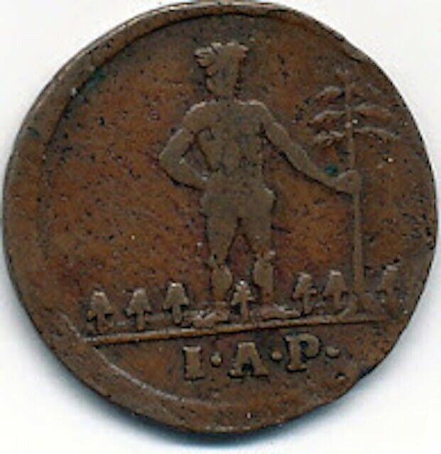 Brunswick-Wolfenbuttel (German States) 1768 1 Pfennig - Wildman