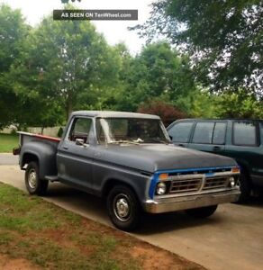 1973 too 1979 ford F100 short box or shortbox stepside