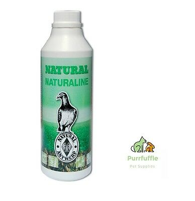 6 x 1LTR BOTTLES NATURAL NATURALINE PIGEON SUPPLEMENT HEALTH & HYGIENE BULK BUY