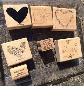 Rubber embossed stamps perfect for stamping and scrapbooking Narangba Caboolture Area Preview