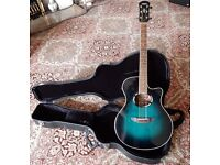 Yamaha APX-500 electroacoustic guitar and hard case