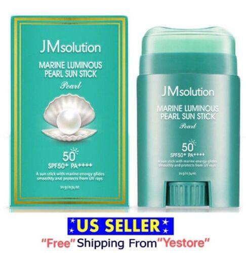 JM Solution Marine Luminous Pearl Light Sun Stick Sunscreen 20g SPF 50+/ PA++++