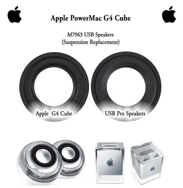 |2 x Surround replacement for Apple PowerMac G4 Cu…
