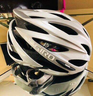 Giro Savant Helmut Size Small Silver/White for sale  Shipping to Canada