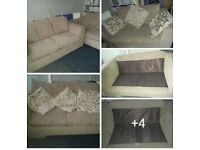 2+ 3 SOFAS .IN GOOD CONDITION
