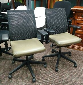 Used United Mesh Back Chair