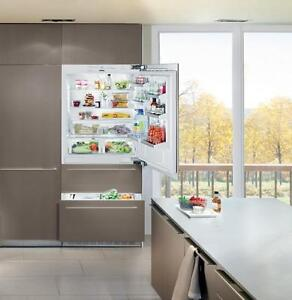 Liebherr Premium Plus HC2060 36in Fully Integrated Built-in Panel Ready Bottom Freezer Refrigerator New REDUCED PRICE