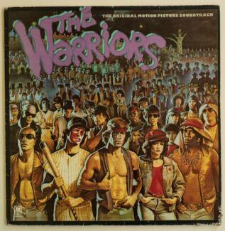 THE WARRIORS - soundtrack vinyl LP -  1979 - optional CD