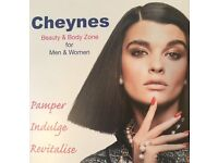 BEAUTY THERAPIST (FULL/PART TIME) FOR CHEYNES HAIR & BEAUTY ZONE