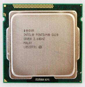 Intel G620 CPU on par with core i3