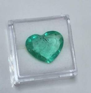 RARE 6.06ct Heart Shaped Natural Emerald Strathfield Strathfield Area Preview