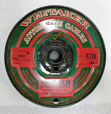 PARTIAL ROLL OF WHITAKER AUTOMOTIVE CABLES