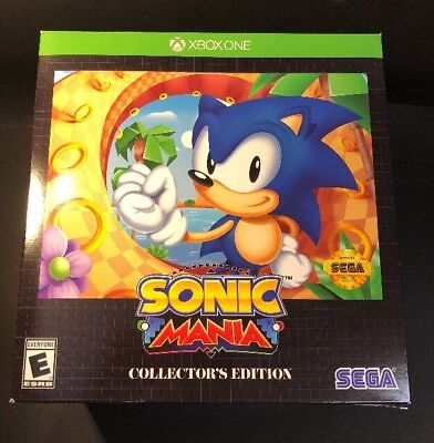 Sonic Mania   Collectors Edition    Xbox One  New