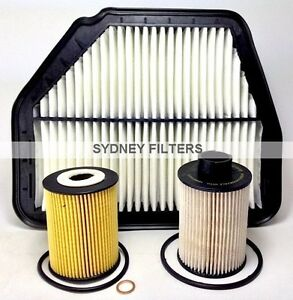 HOLDEN-CAPTIVA-2-0L-TURBO-DIESEL-CG-AIR-OIL-FUEL-FILTER-KIT-2-0-2L-93745801-PACK