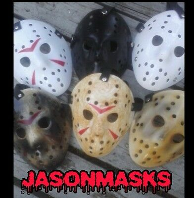 (6)Jason Voorhees  FRIDAY THE 13TH HOCKEY MASK COLLECTION HALLOWEEN - The Collection Halloween Mask