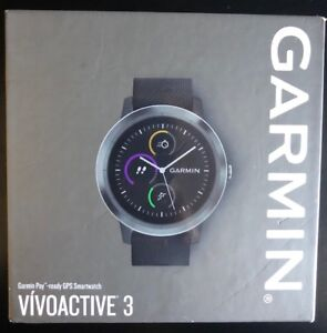 NEW Garmin vivoactive 3 GPS Smartwatch with Heart Rate Monitor