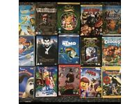 15 DVD's including 3 boxsets and Disney