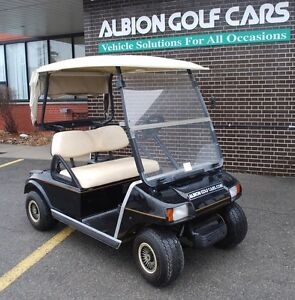 Awesome Value in 2003 Club Car, w. New Batteries + Lights
