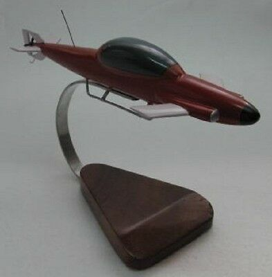 Seaview Minisub Mini Sub Submarine Desktop Wood Model