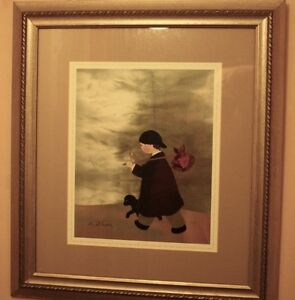"Ltd Ed Framed Matted Print ""The Adventure"" by Diane Ethier Peterborough Peterborough Area image 3"