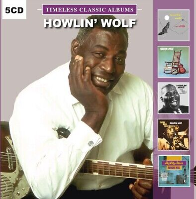 HOWLIN' WOLF - 5 Timeless Classic Albums VOL 2 -  5 X CD SET - NEW & SEALED
