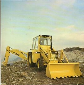 Wanted Hymac 370c Loader & Digger for Restoration