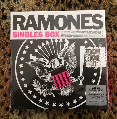The Ramones - Singles Box Set - RSD 2017 45 rpm 7