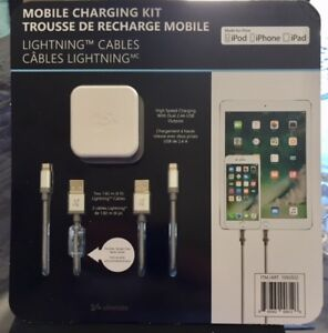Charging Kit for IPod, IPad, IPhone