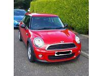 Red Mini one hatchback, 1.6