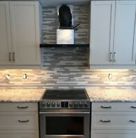 Pro Kitchen & Bathroom Tile Backsplash Wall Installed @ $198