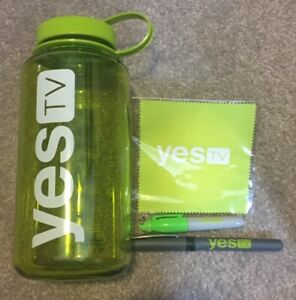 YES TV Promotional Swag Items - NEW Nalgene BPA-Free Bottle Pen