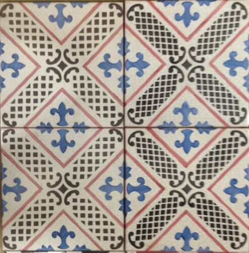 Vietri piastrelle 20x20 decorate a mano in cotto - Piastrelle decorate a mano ...