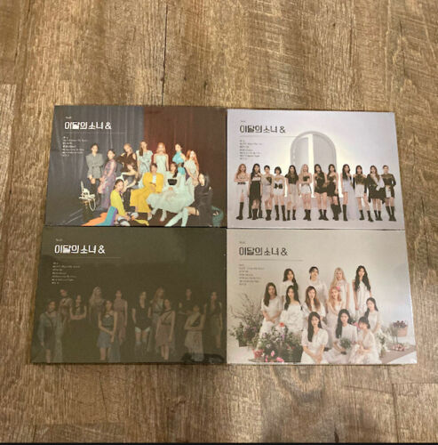 LOONA & (AND) A, B, C, D Version Sealed Albums, US Seller! (7/25 Restock!)