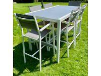7 Piece Outdoor High Dining Set