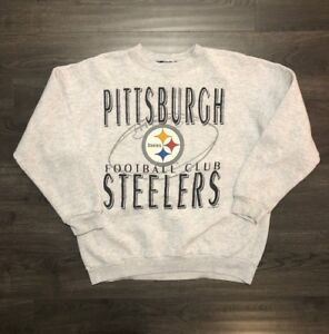 Vtg Pittsburgh Steelers Crewneck