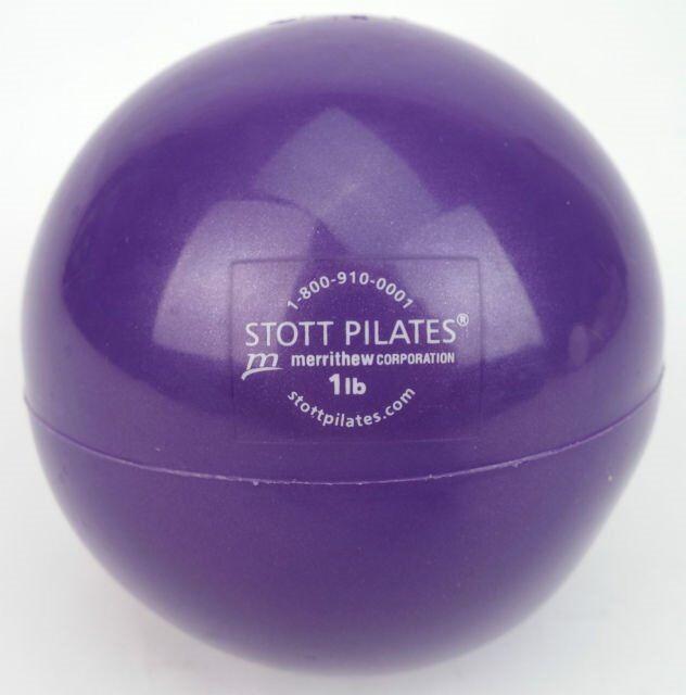 Stott Pilates Toning/Training handheld ball, 8 pairs 1lb, 8 pairs 2lb
