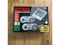SNES Classic Mini (Brand New In Box)
