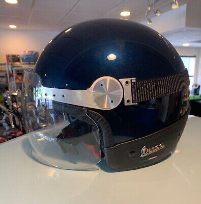 VESPA GTS REPLICA MIDNIGHT BLUE HELMET XL NEW