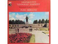 Vintage Vinyl Box Set Shostakovich Leningrad Symphony