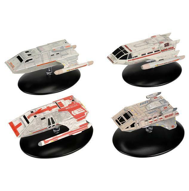 Star Trek Starships Set #7 navette Pt 4 Eaglemoss