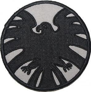 Marvel-Agents-of-SHIELD-Emblema-Bordado-Parche-Insignia-Coser-con-plancha-9cm