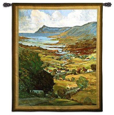 IRISH COUNTRYSIDE TAPESTRY * Ireland Valley Coast Emerald Isles 62