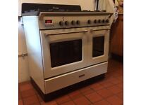 Kenwood Vintage , dual fuel range cooker Model CK425