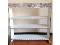 White Decorative Bookshelf
